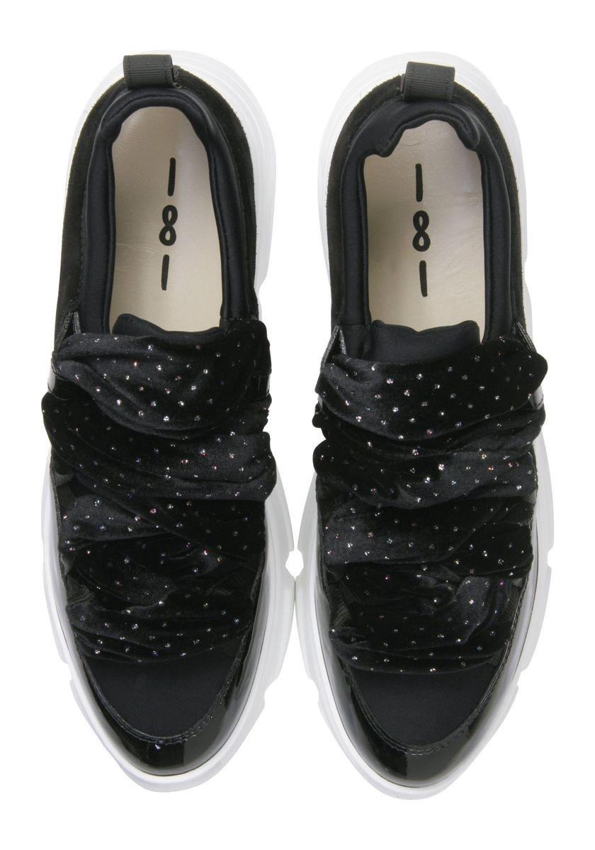 181 Vrouwen Sneakers - Kyoga - Zwart - Maat 38 AgHQ9