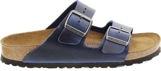 Birkenstock Slippers - Maat 45 - Unisex - donkerblauw