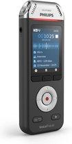 Philips Voice Tracer DVT2810/00 dictaphone Flashkaart Zwart, Chroom