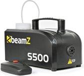 Rookmachine - BeamZ S500 compact rookapparaat met afstandsbediening  incl. rookvloeistof