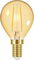 PROLIGHT LED kooldraadlamp kogel - E14 - 2W - 150 lumen - Ø45mm