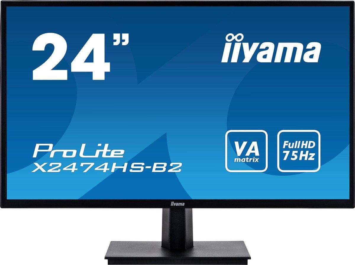 Iiyama ProLite X2474HS-B2 - Full HD Monitor - 24 inch