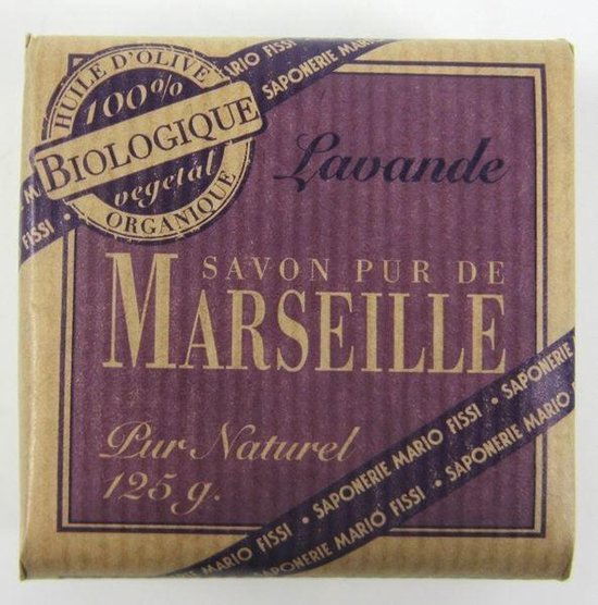 Organic Marseille Biologische Zeep - Lavendel 125 gr