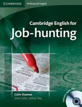 Cambridge English for Job-Hunting book + audio-cd's(2x)