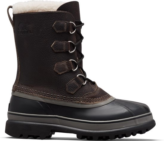 Sorel Caribou WL Heren Snowboots - Quarry. Black - Maat 42