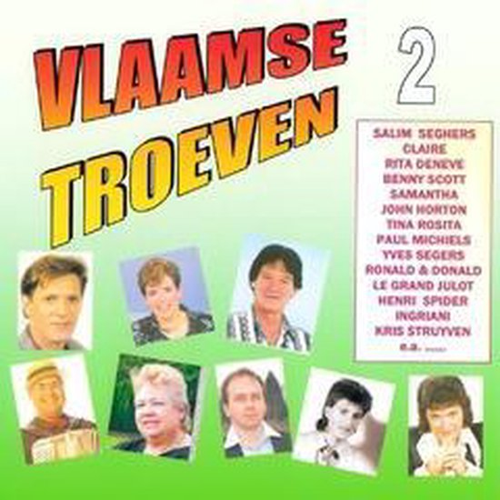 DIVERSE ARTIESTEN - Vlaamse Troeven vol. 2
