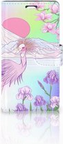 Telefoonhoesje LG Magna | G4C Book Case Hoesje Bird