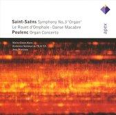Saint-Saens: Symphony no 3 etc; Poulenc: Organ Concerto / Marie-Claire Alain