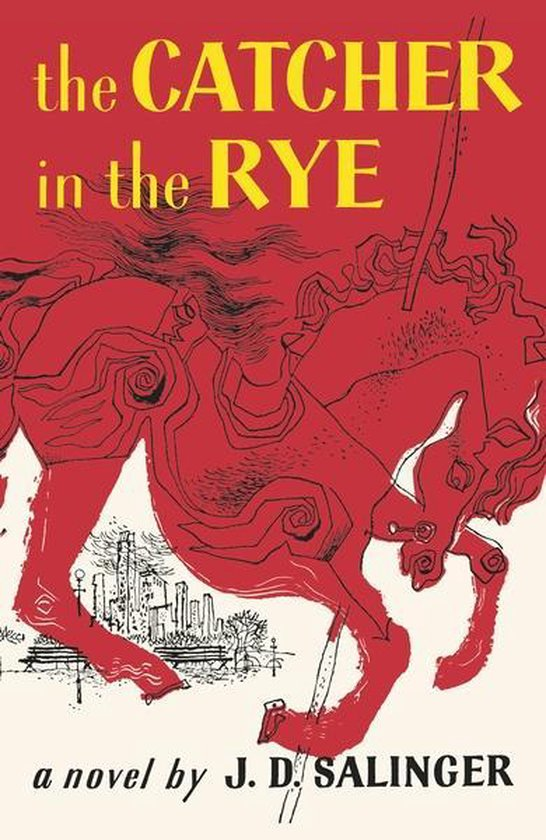 Boek cover The Catcher in the Rye van j. d. salinger (Hardcover)