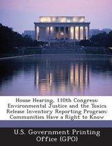 House Hearing, 110th Congress
