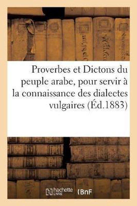 Proverbes et Dictons du peuple arabe