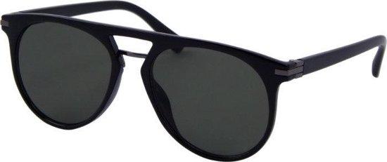 Az-eyewear Zonnebril Casual Unisex Cat.3 Zwart/groen (az-8170)