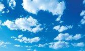 Fotobehang Vlies | Lucht, Zon | Blauw | 368x254cm (bxh)