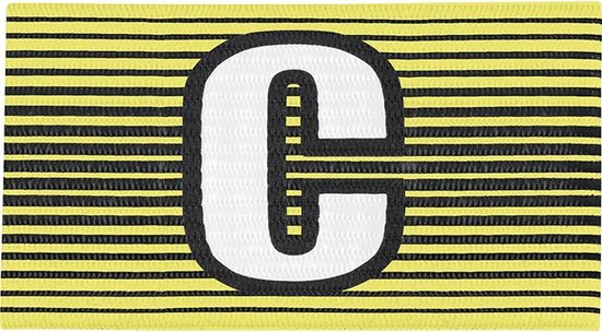 Jako Aanvoerdersband - Aanvoerdersbanden  - geel - SR