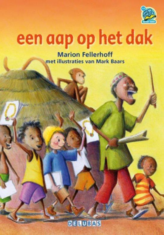 Samenleesboeken - Een aap op het dak - Marion Fellerhoff  