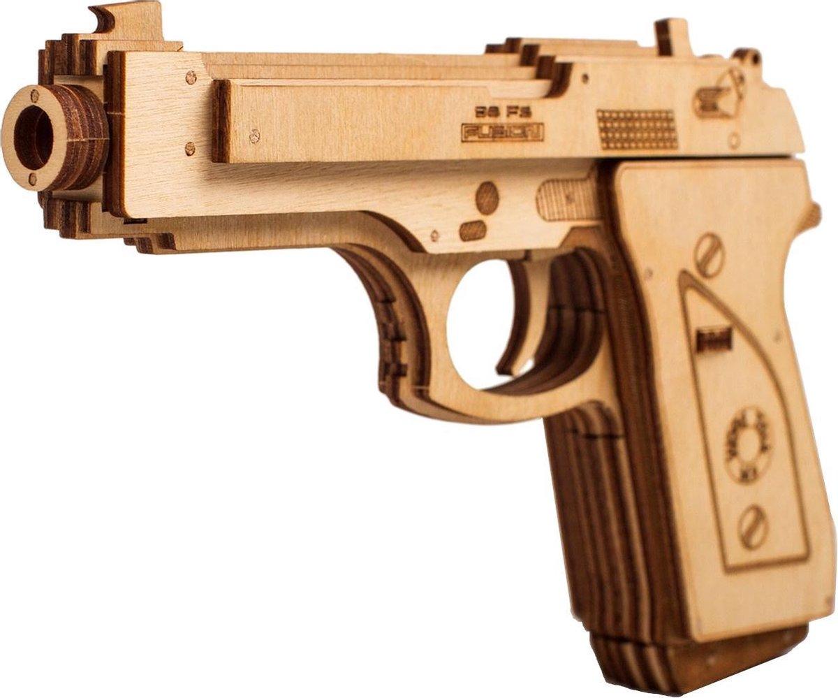 Wood Trick Houten Modelbouw - Gun