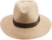 Zonnehoed UV beschermend UPF50+ Oscar Fedora - Unisex Dames & Heren - Maat: 61cm - Kleur: Natural