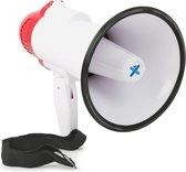 Megafoon - Vonyx MEG020 - Megafoon 20W met opnamefunctie en sirene