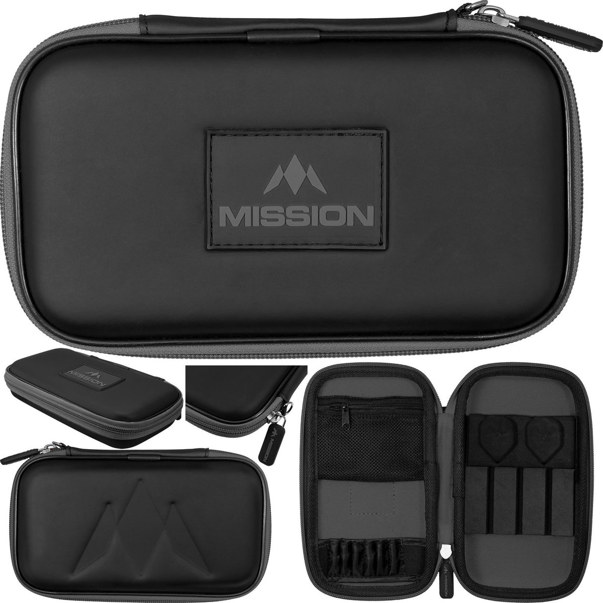 Mission Freedom XL Darts Case - Grijs