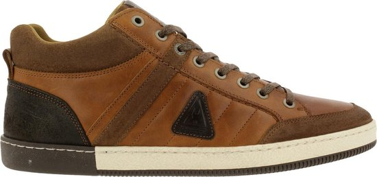 Gaastra Willis Mid Ctr Sneaker Men Cognac-Brown 44