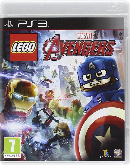 LEGO: Marvel's Avengers PS3 - Warner Bros. Games