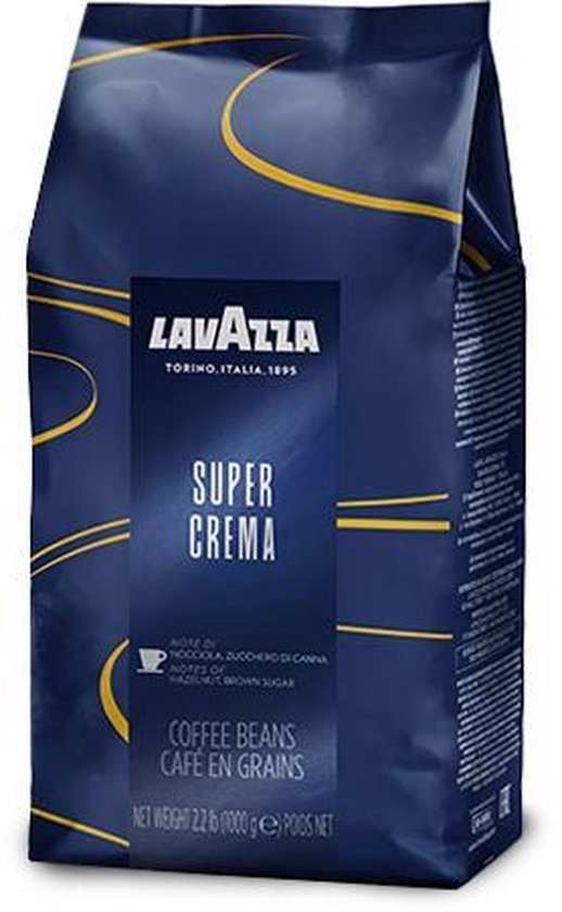 Lavazza Super Crema Koffiebonen - 1 kg