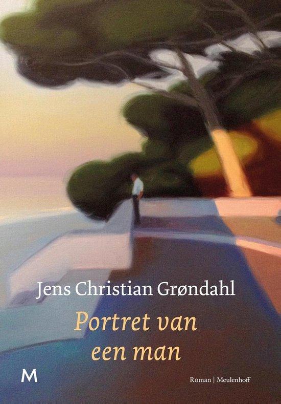 Boek cover Portret van een man van Jens Christian Grøndahl (Onbekend)