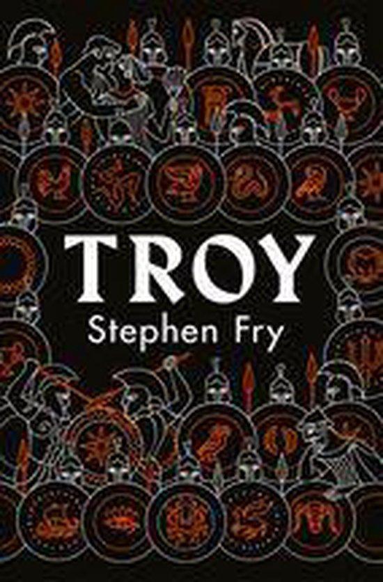Boek cover Troy van Stephen Fry (Onbekend)