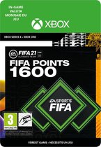 1.600 FUT Punten - FIFA 21 Ultimate Team - In-Game tegoed – Xbox One/Series Download - NL