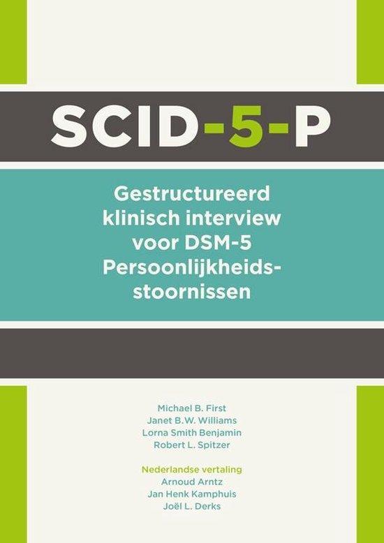 Boek cover SCID-5-P van Michael B. First (Paperback)