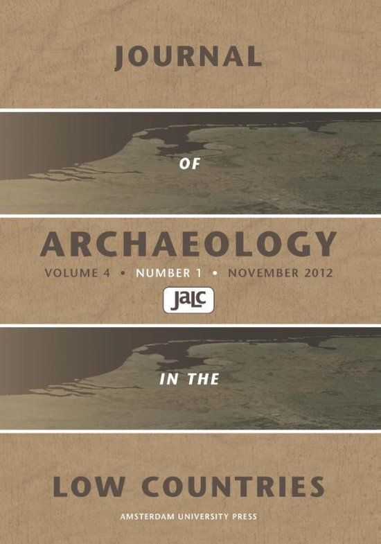Boek cover Journal of archaeology in the low countries 2012 van  (Paperback)