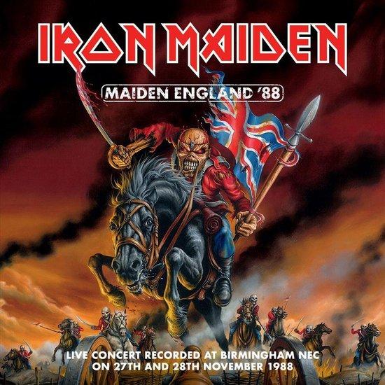 CD cover van Iron Maiden - Maiden England 88 van Iron Maiden