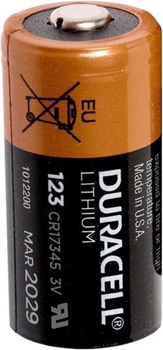 Duracell Ultra Lithium CR123A batterij 3V