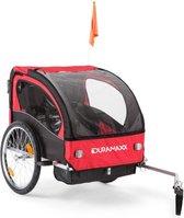 Trailer Swift Kinderfietsaanhanger Babytrailer 2-zitter max. 20 kg