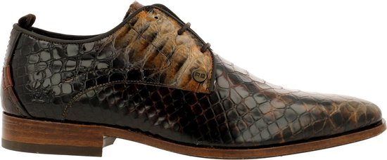 Rehab Greg Snake D Lace-Up Men Cognac-Brown 44