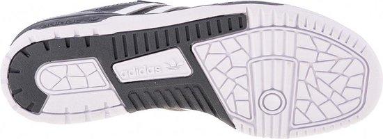 adidas Rivalry Low Heren Sneakers - Cloud White/Cloud White/Core Black - Maat 42 2/3