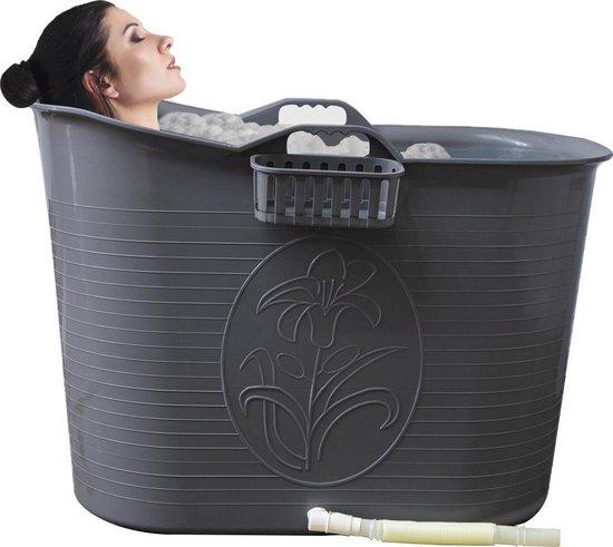 Afbeelding van EKEO - Zitbad Voor Volwassenen - Bath Bucket - Zilver - 92 x 50 cm - 200L
