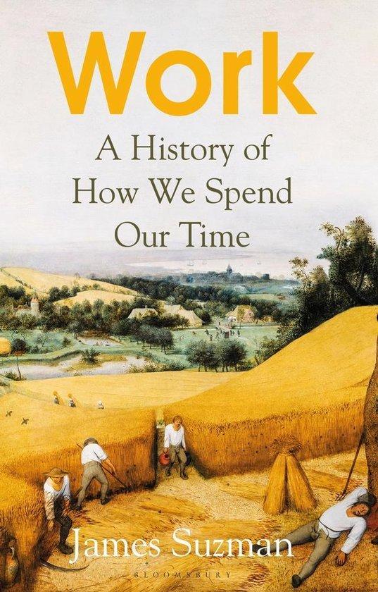 Boek cover Work van James Suzman, Suzman (Paperback)