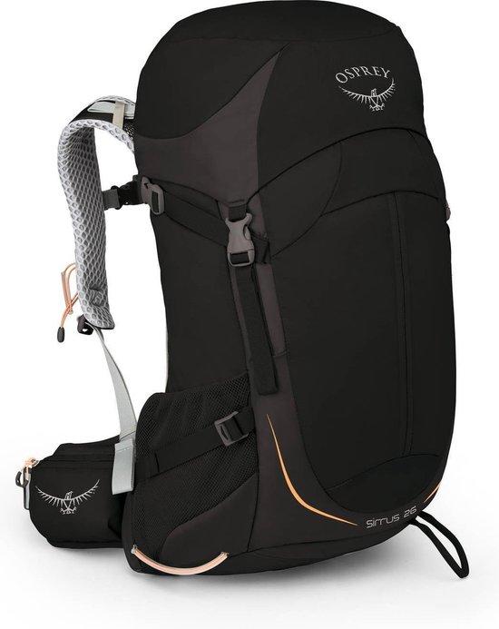 Osprey Sirrus 26 rugzak zwart