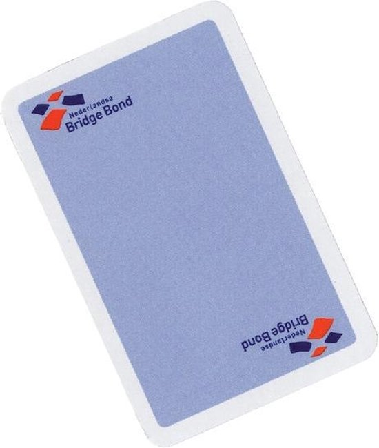Afbeelding van het spel Speelkaarten bridgebond blauw