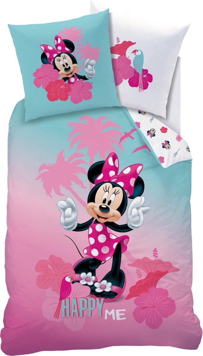 Disney Minnie Mouse Tropics - Dekbedovertrek - Eenpersoons - 140 x 200 cm - Multi kopen