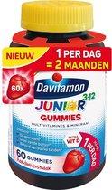 Davitamon Junior 3+ gummies - multivitamine kinderen - 60 stuks - Voedingssupplement