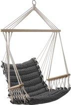 Vaderdagtip! 4goodz Comfortabele Hangstoel Ibiza 90x65cm - grijs