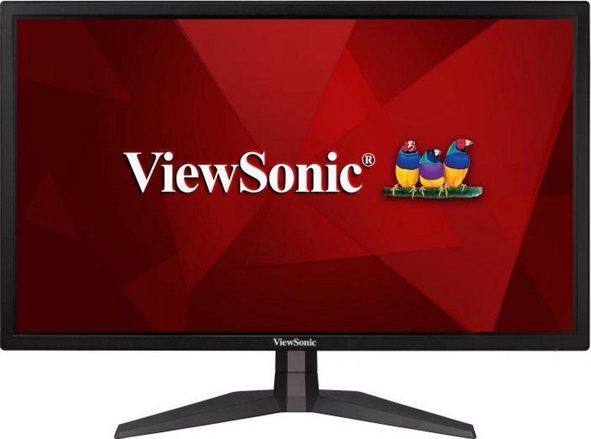 Viewsonic VX2458-P-MHD Gaming monitor 59.9 cm (23.6 inch) Energielabel F (A – G) 1920 x 1080 Pixel Full HD 1 ms HDMI, DisplayPort