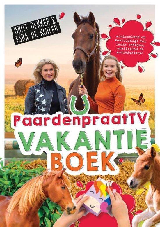 Afbeelding van Paardenpraat tv Britt & Esra  -   Het PaardenpraatTV-vakantieboek