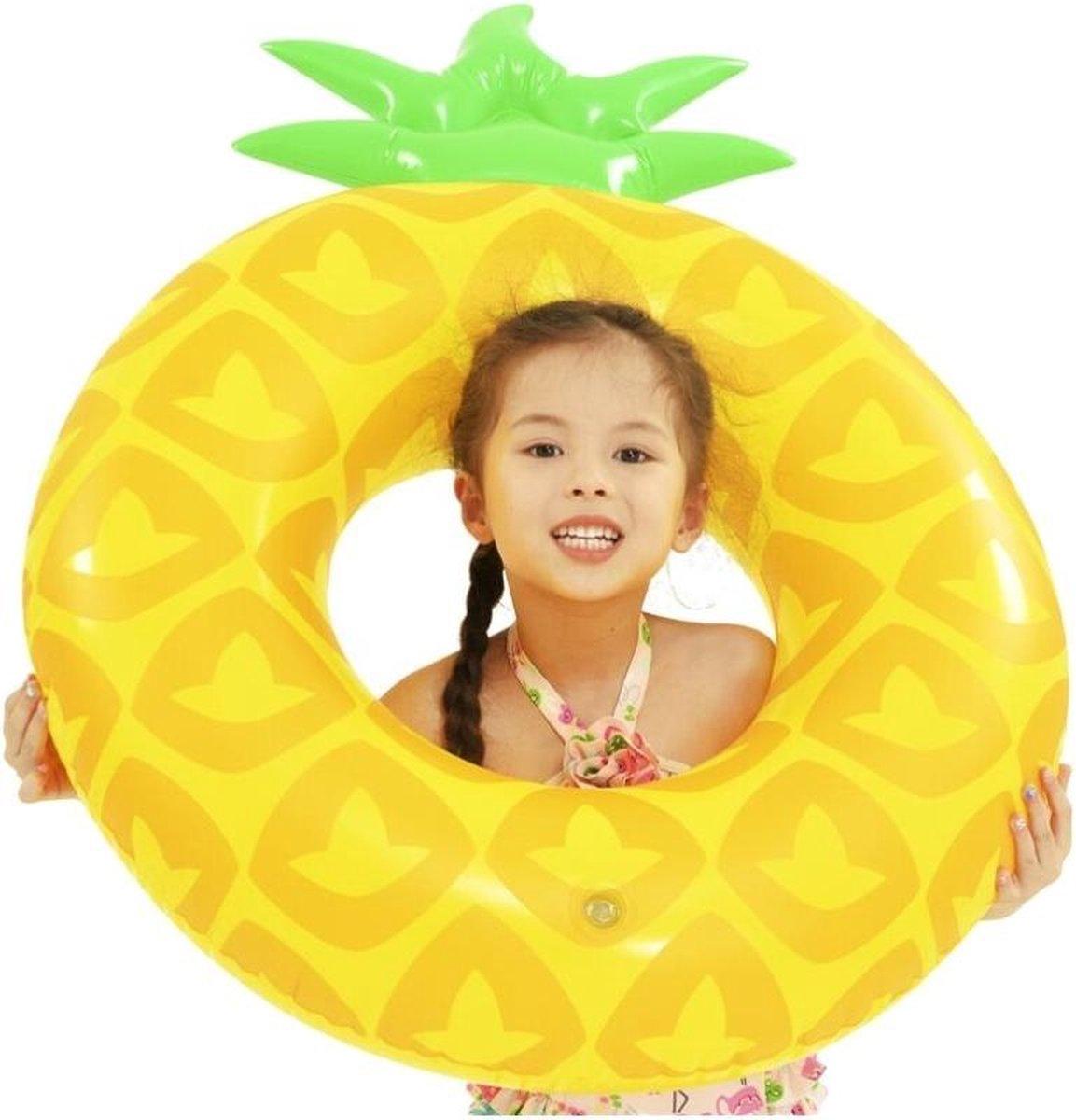Jilong Zwemband Ananas Junior 100 X 76 Cm Geel