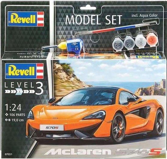 Afbeelding van Revell Model Set - McLaren 570S speelgoed