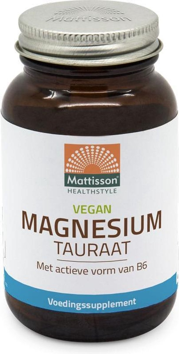 Mattisson Magnesium Tauraat Vegan 60 Vcaps