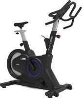 Inxide Xs08 Indoor Bike - Spinningfiets met Bluetooth Connectiviteit - Poly V-Riem Aandrijfsysteem - Black