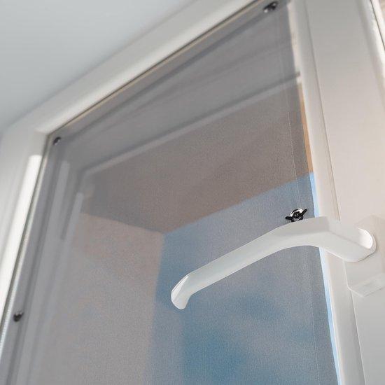 relaxdays Zonwering raam met zuignappen - zonnescherm - vensterzonwering - zonder boren 60x100cm